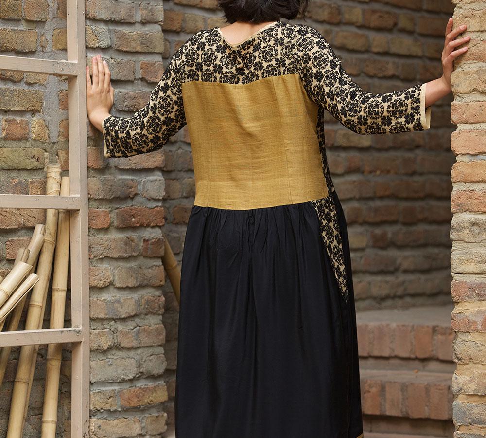 chikan kari dress