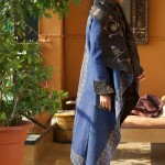 kantha long jacket(silk)